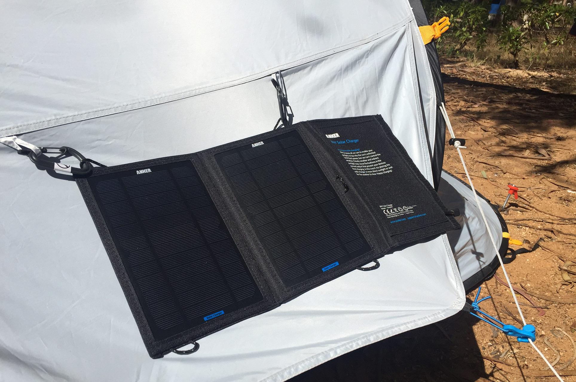 Solarzelle zur Stromversorgung