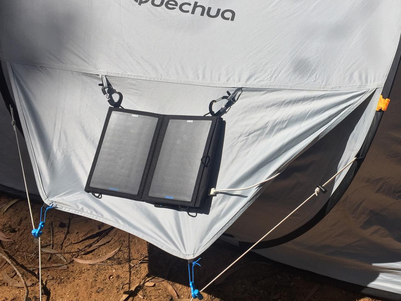 Autarke Stromversorgung beim Zelten