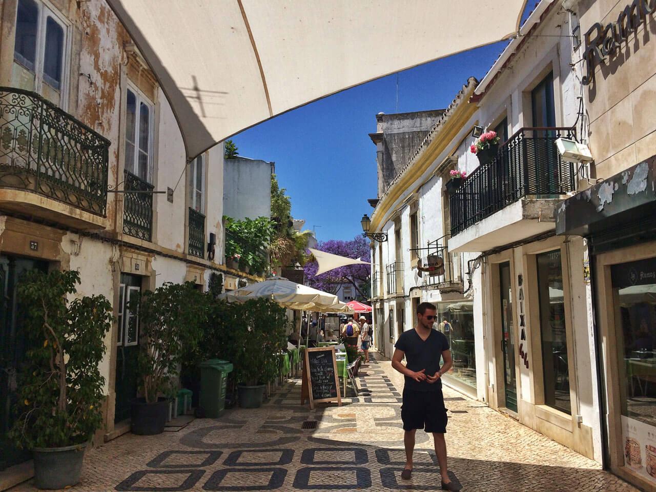 Faro Innenstadt Algarve Portugal