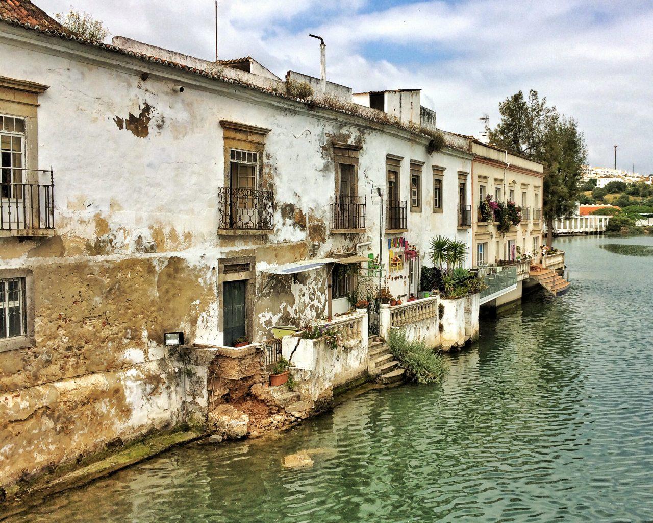 Alte Häuser in Tavira Portugal