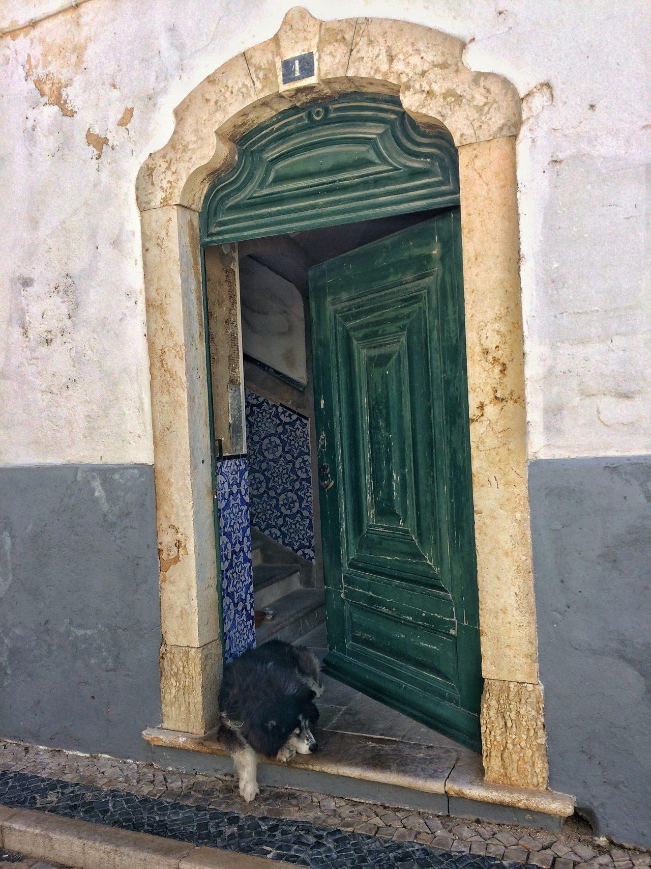Altstadt von Faro an der Algarve - Portugal
