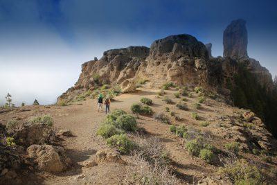 Wandern zum Roque Nublo
