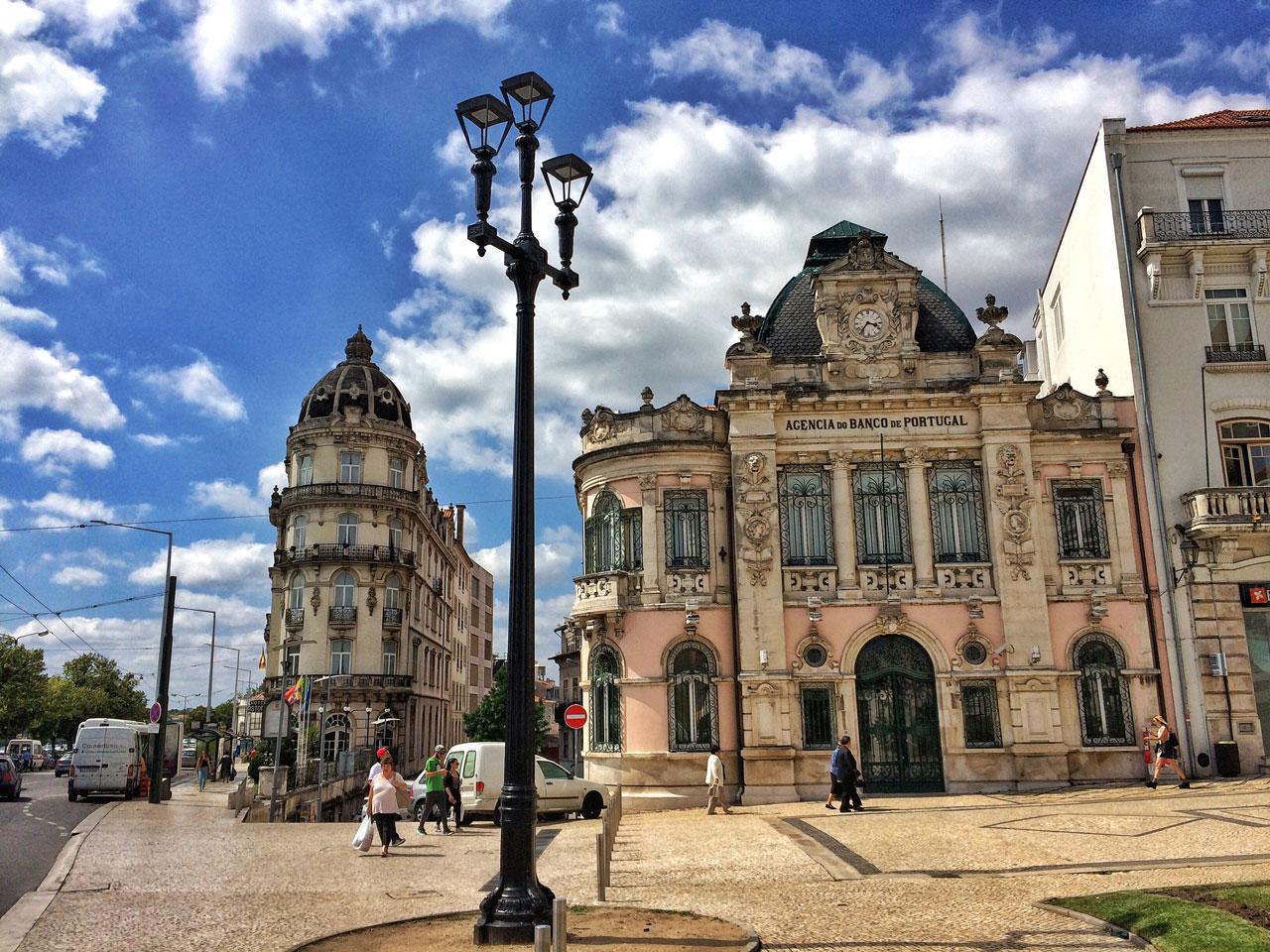 Coimbra Portugal - Largo da Portagem