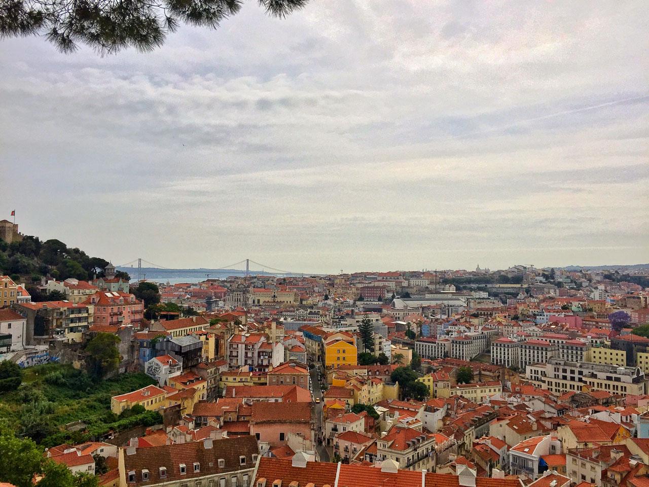 Aussicht über Lissabon - Portugal