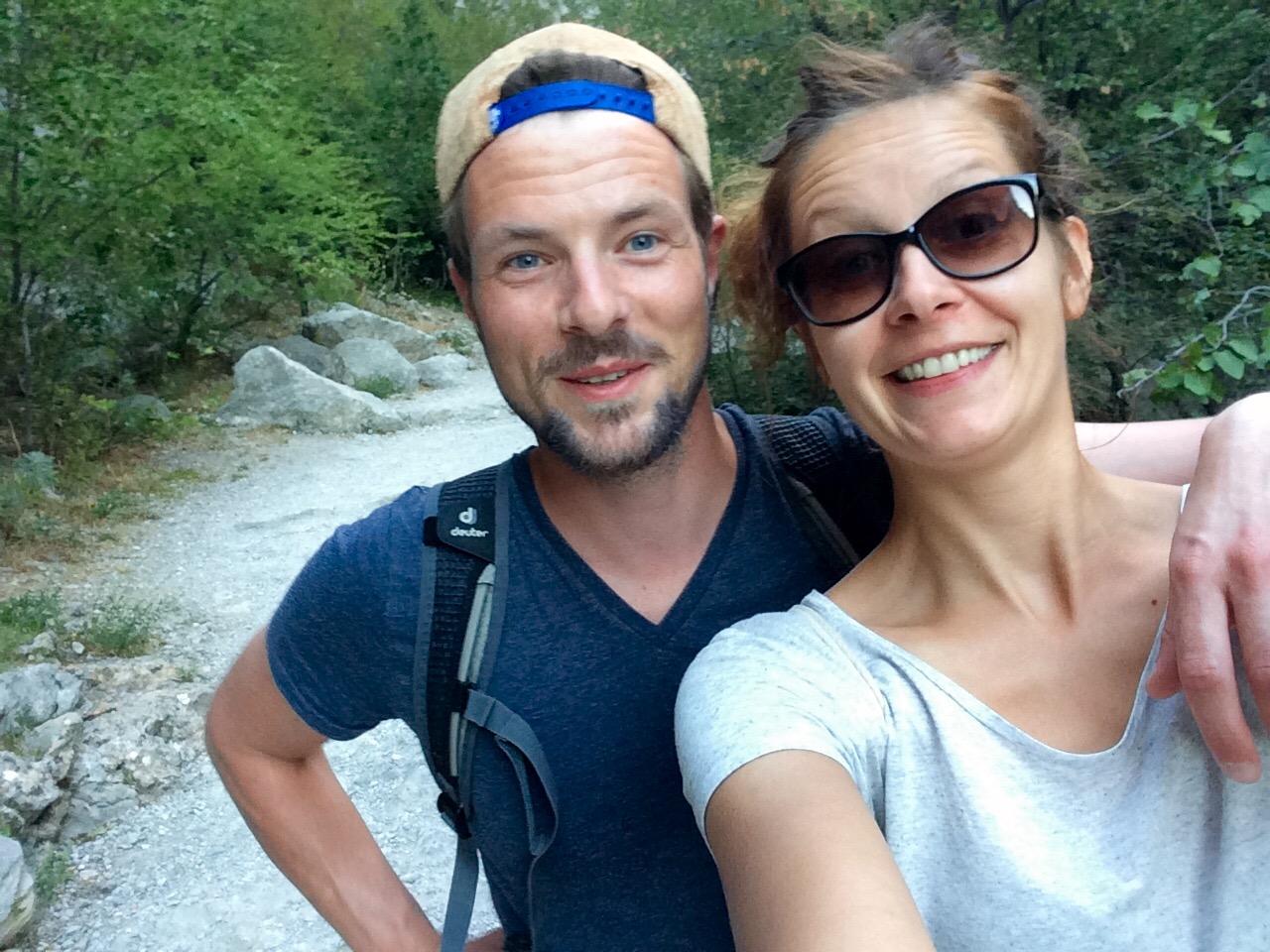 Wanderung in Paklenica in Kroatien