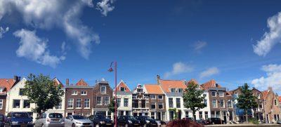 Middelburg Häuserreihe