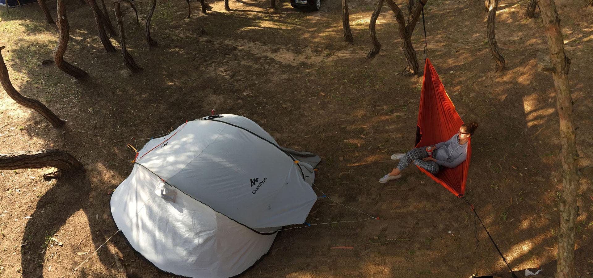 Campingplatz nahe Lissabon - Portugal