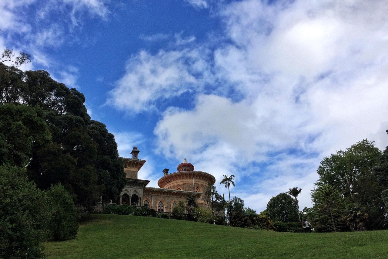 Der Palast Montserrat in Sintra - Portugal