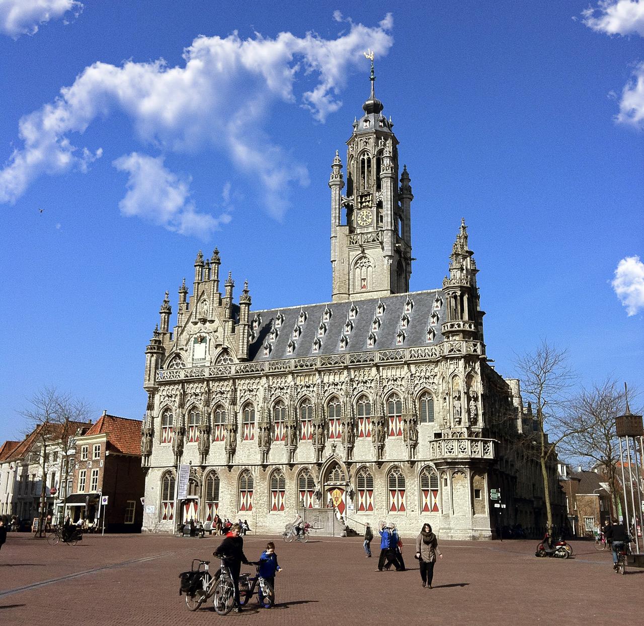 Das alte Rathaus von Middelburg