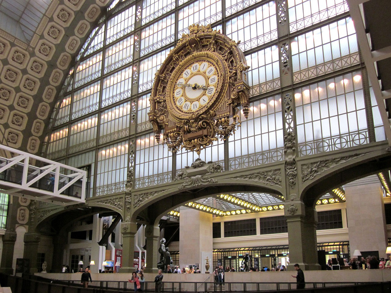 Musee de Orsay Paris Uhr