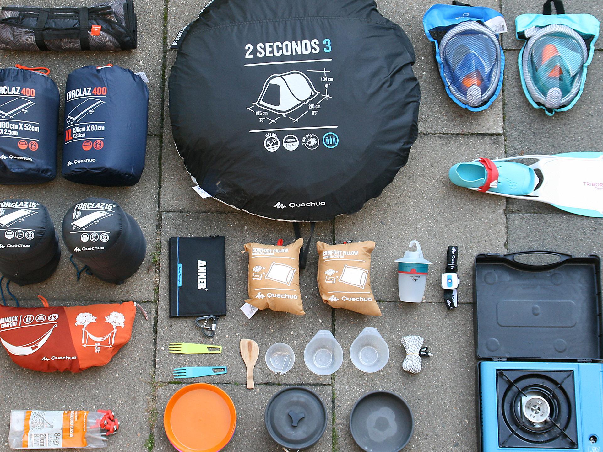 Kletterausrüstung Packliste : Packliste camping roadtrip das muss alles mit! ronnyrakete.de