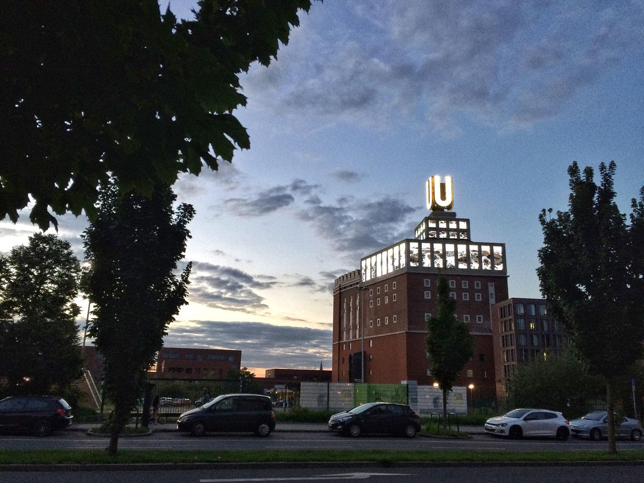 Das Dortmunder U - einst Brauerei, jetzt Kulturzentrum und Veranstaltungsort.