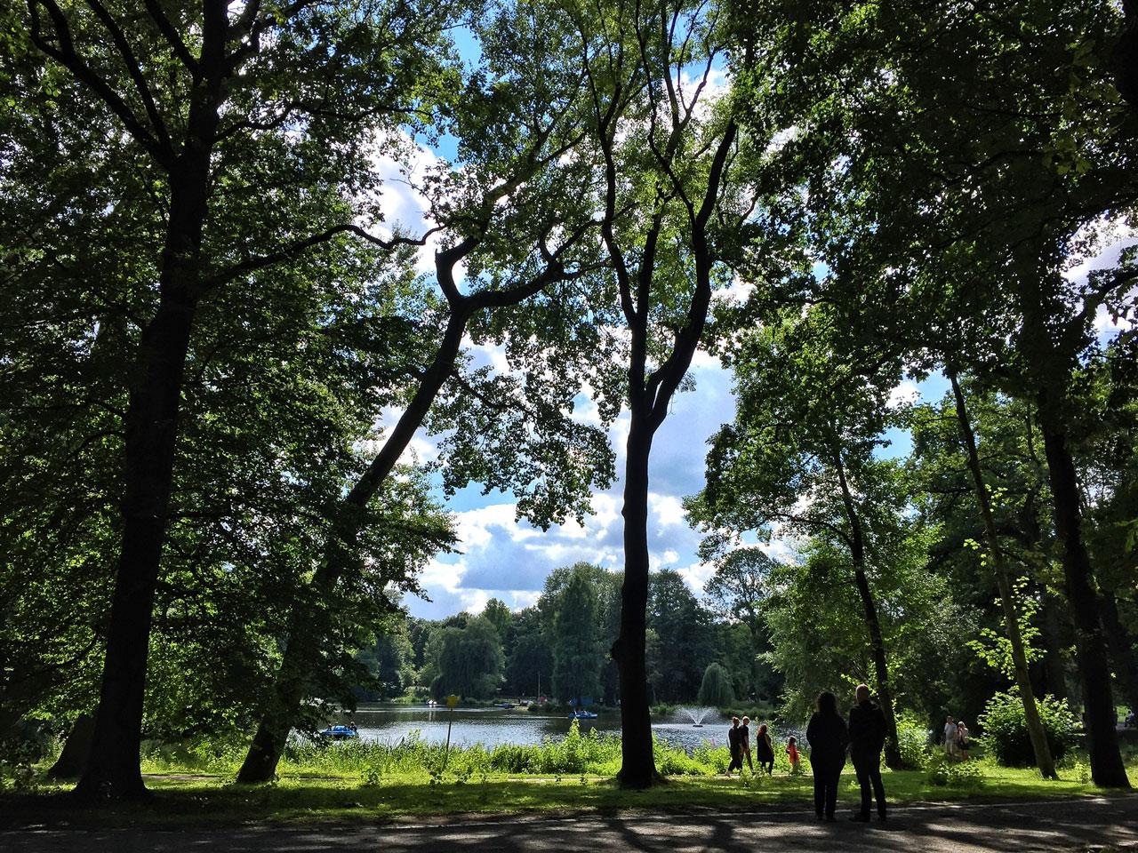 Fredenbaumpark Dortmund großer Teich