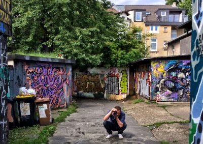 Dortmund Adlerkiosk Graffity