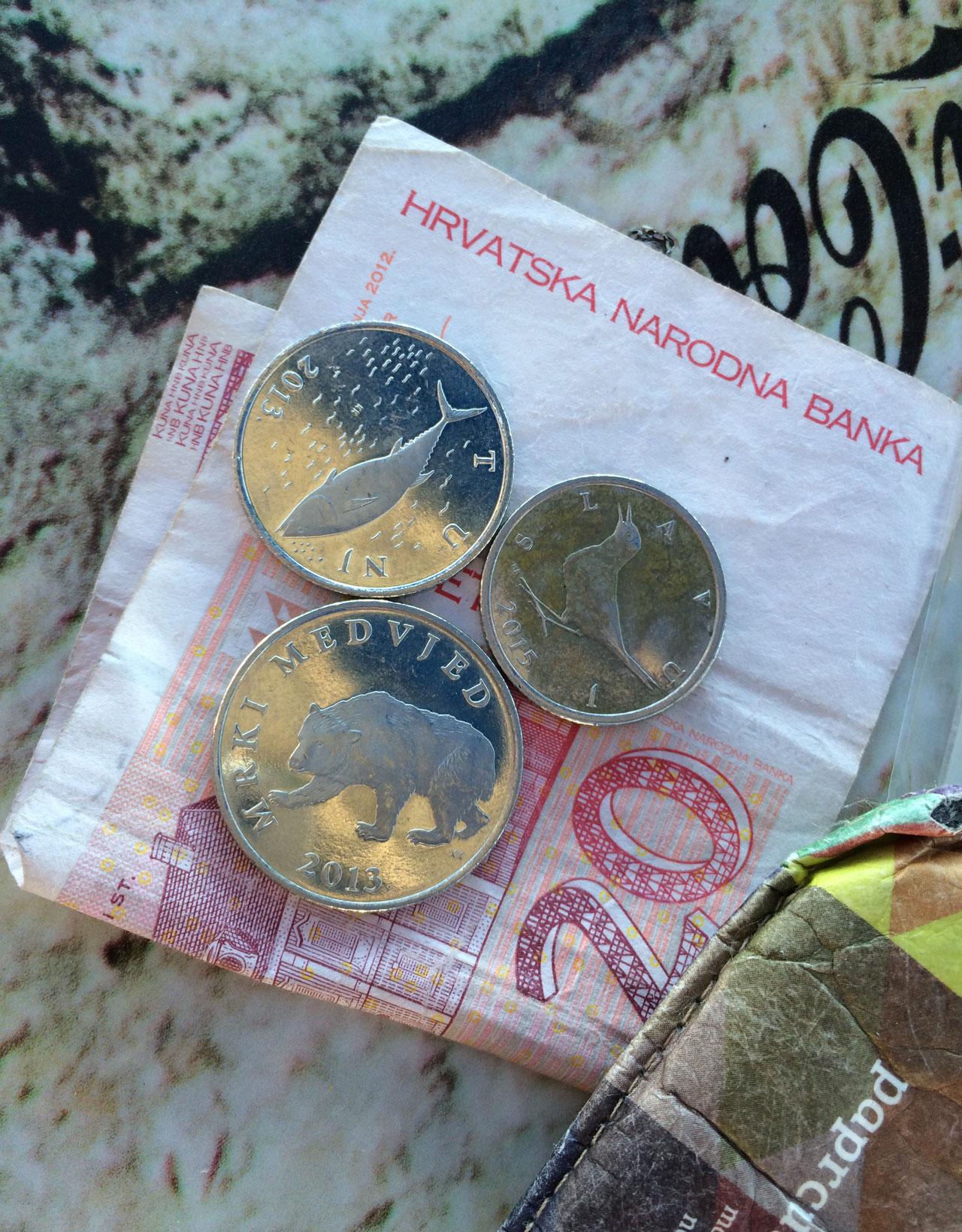Geld aus Kroatien: Kunas