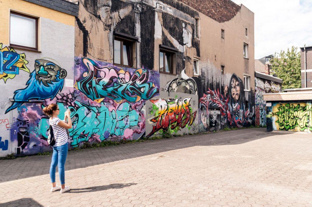 Graffitti Dortmund Adlerstraße