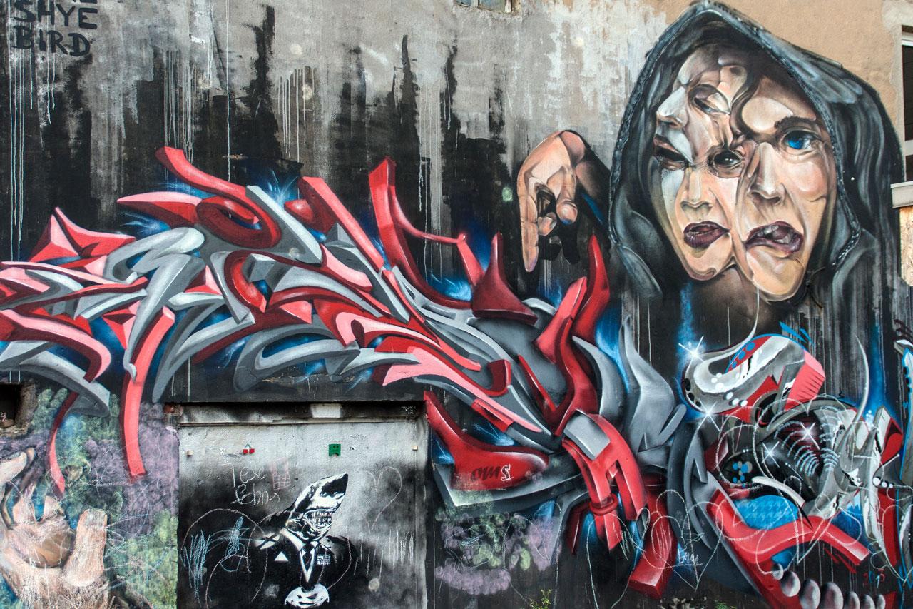 Kunst in der Adlerstraße