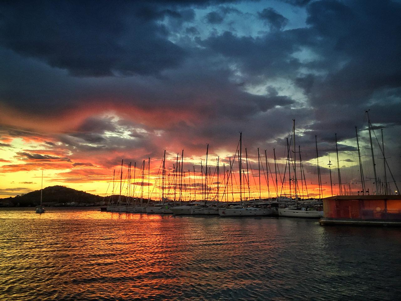Marina Hramina auf Murter in Kroatien