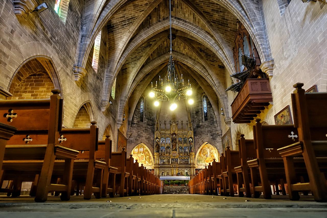 Parroquia de Sant Jaume in Alcudia auf Mallorca
