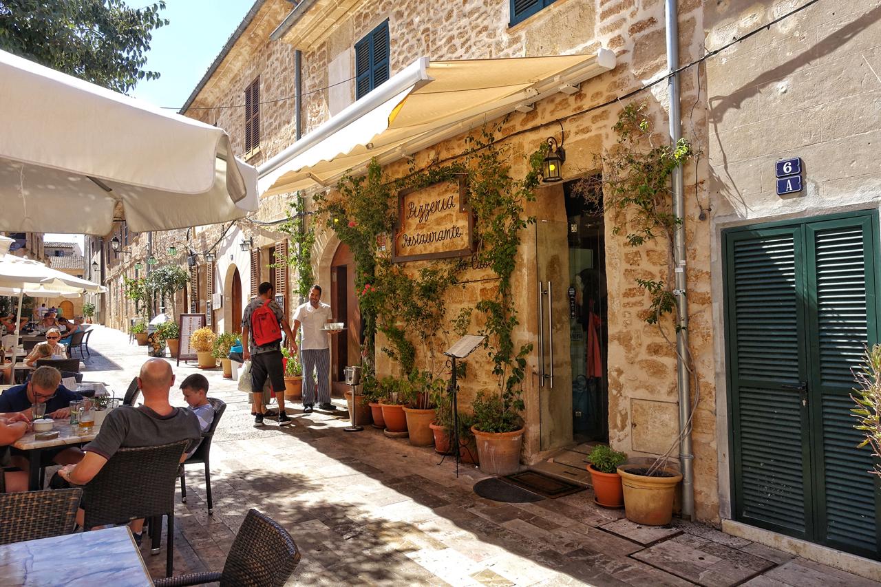 Altstadt Alcudia auf Mallorca.