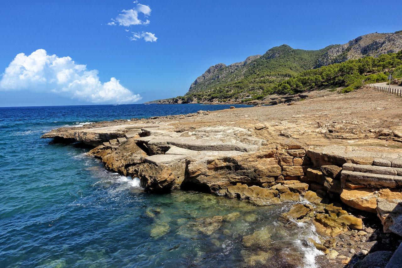Bucht in Mal Pas in Mallorca