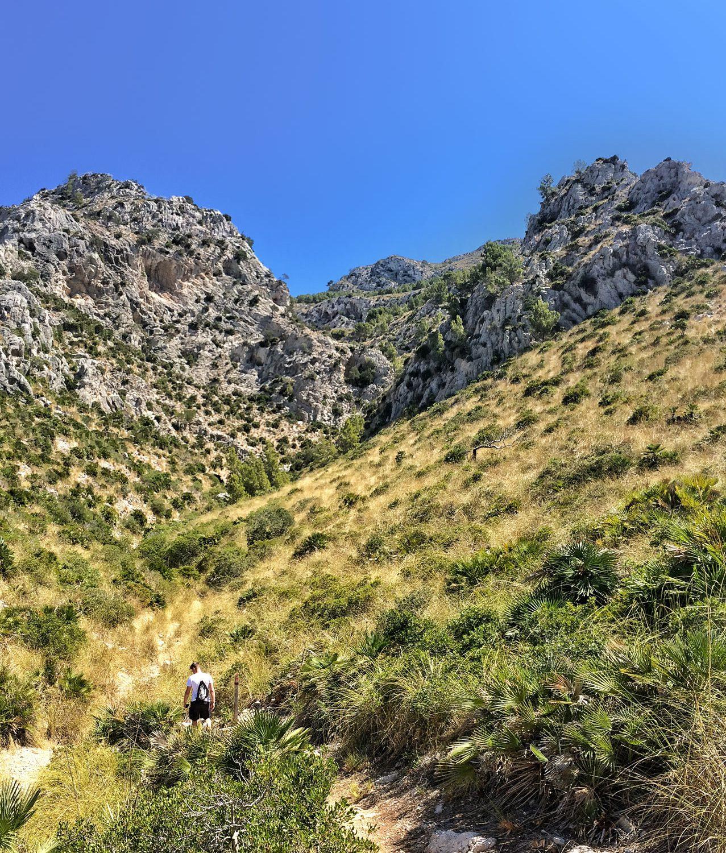 Wandern zur La Victoria auf Mallorca