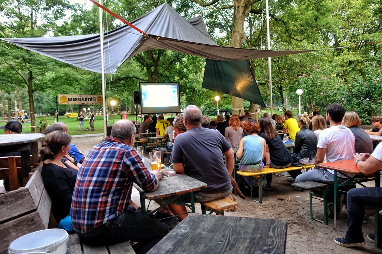 Parks in Dortmund: Westpark Dortmund Cafe Erdmann