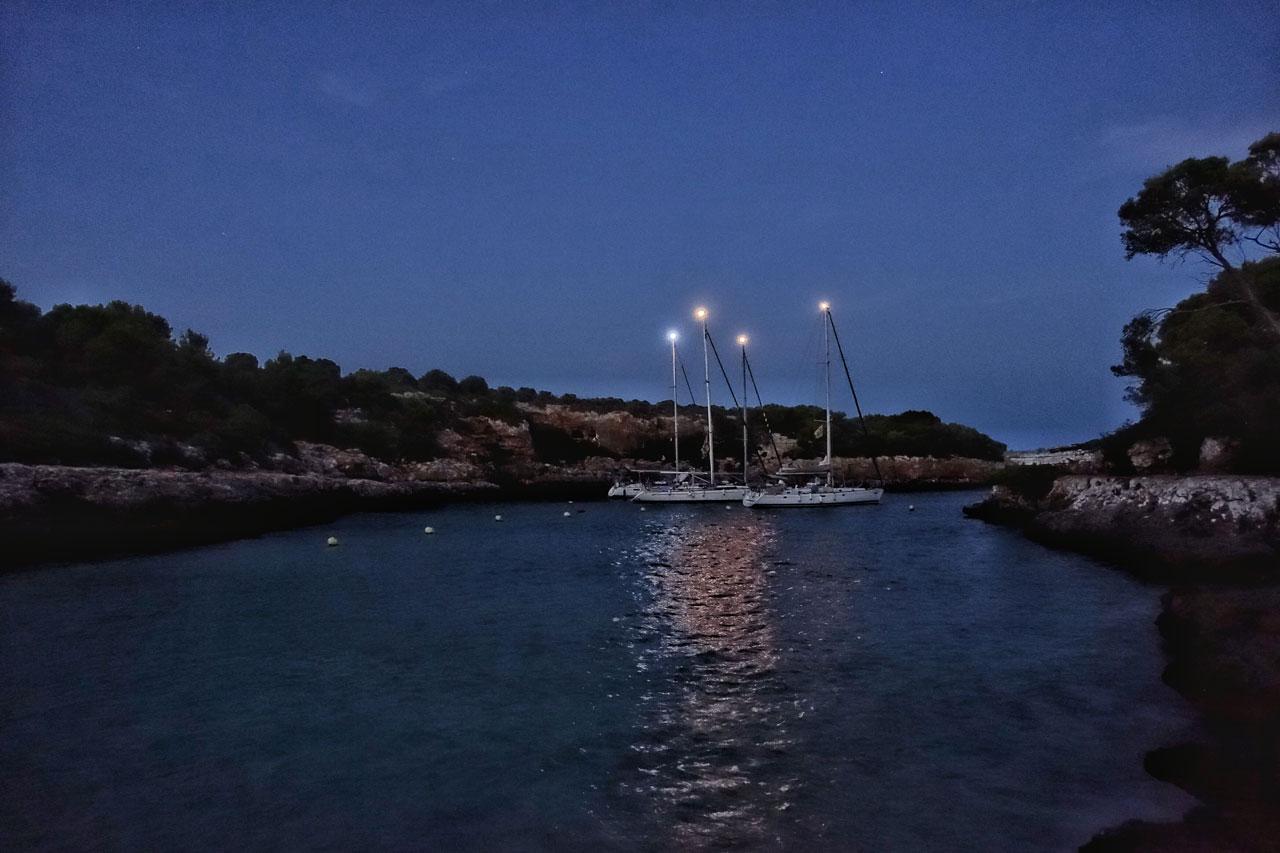 Die Bucht Cala Se Nau - Mallorca