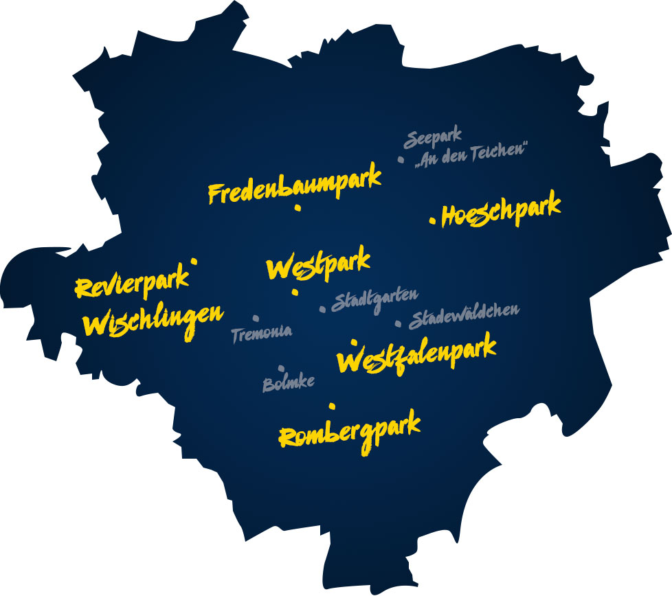 Parks in Dortmund