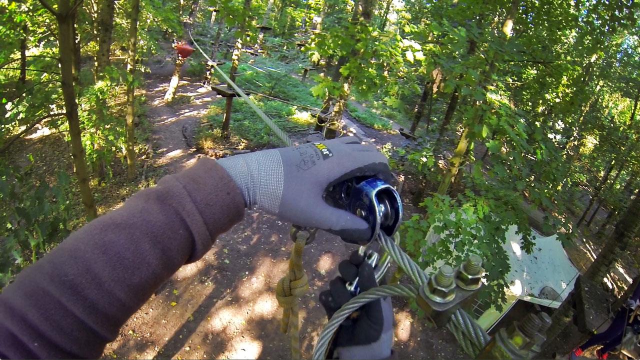 Kletterpark im Revierpark Wischlingen