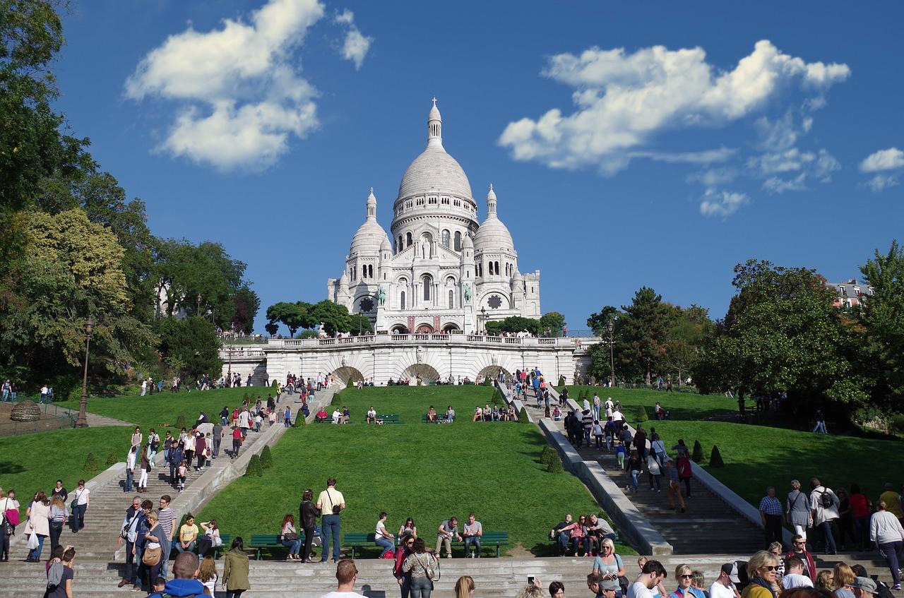 Paris Frankreich Montmartre Basilika