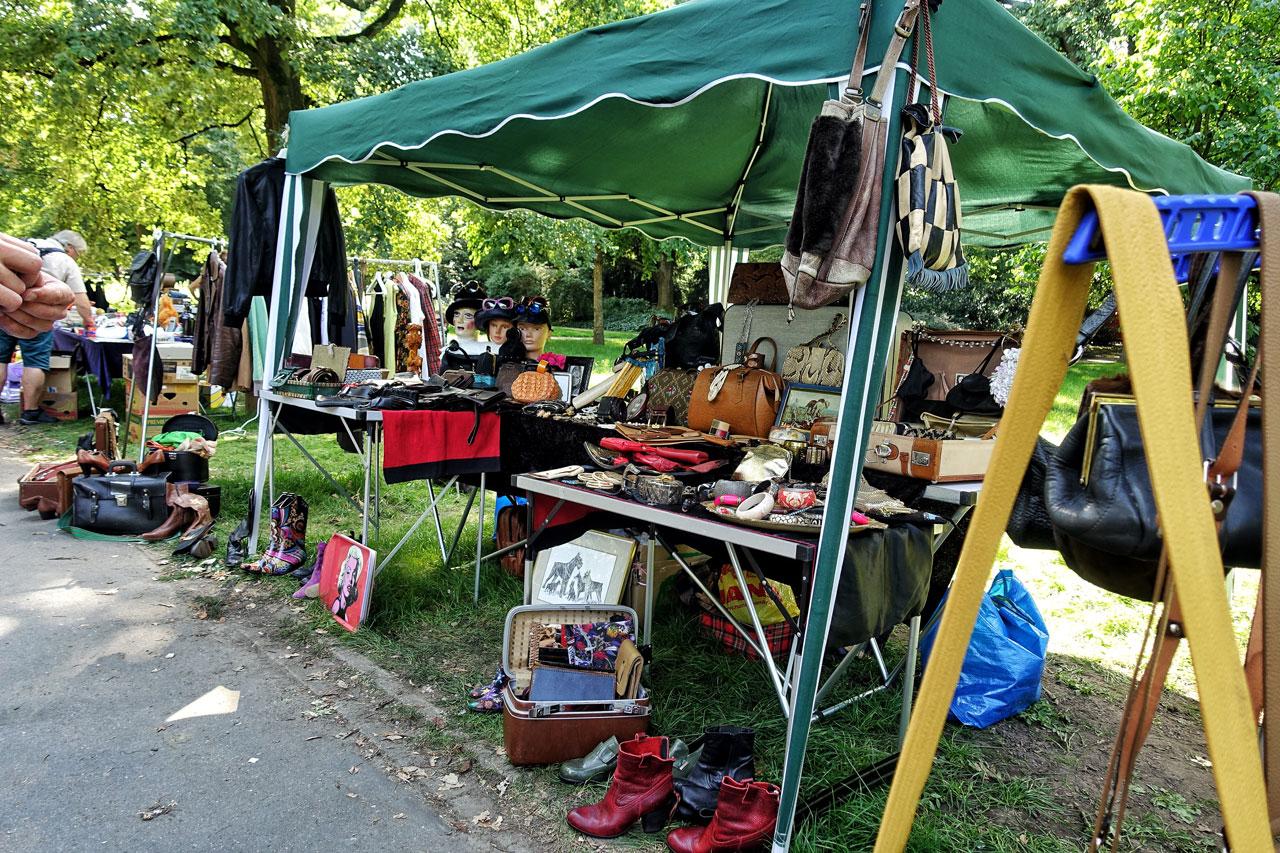 Flohmarkt im Westpark Dortmund