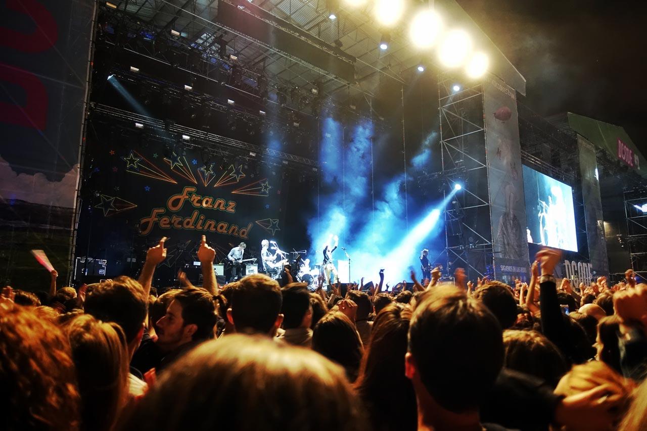 Franz Ferdinand auf dem DCODE Festival in Madrid