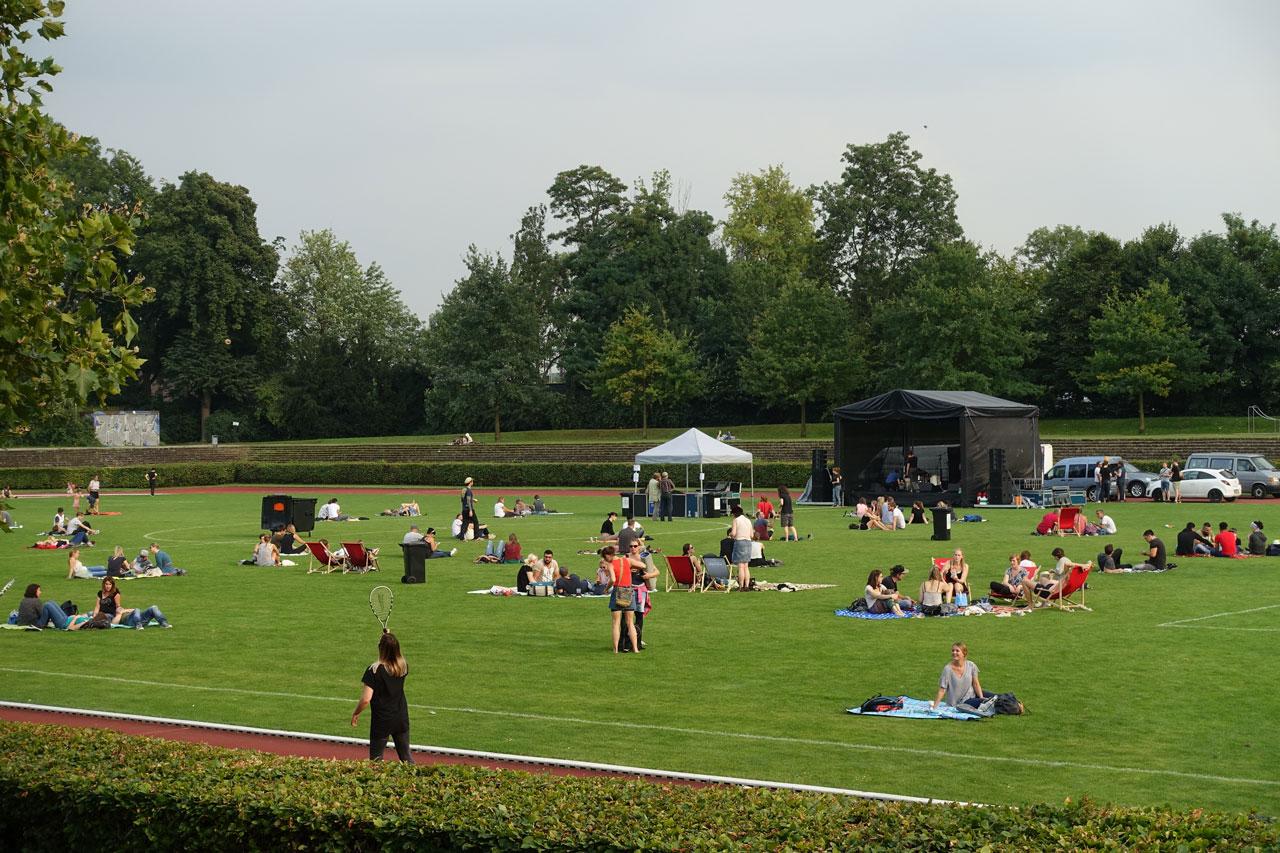Hoeschpark in Dortmund
