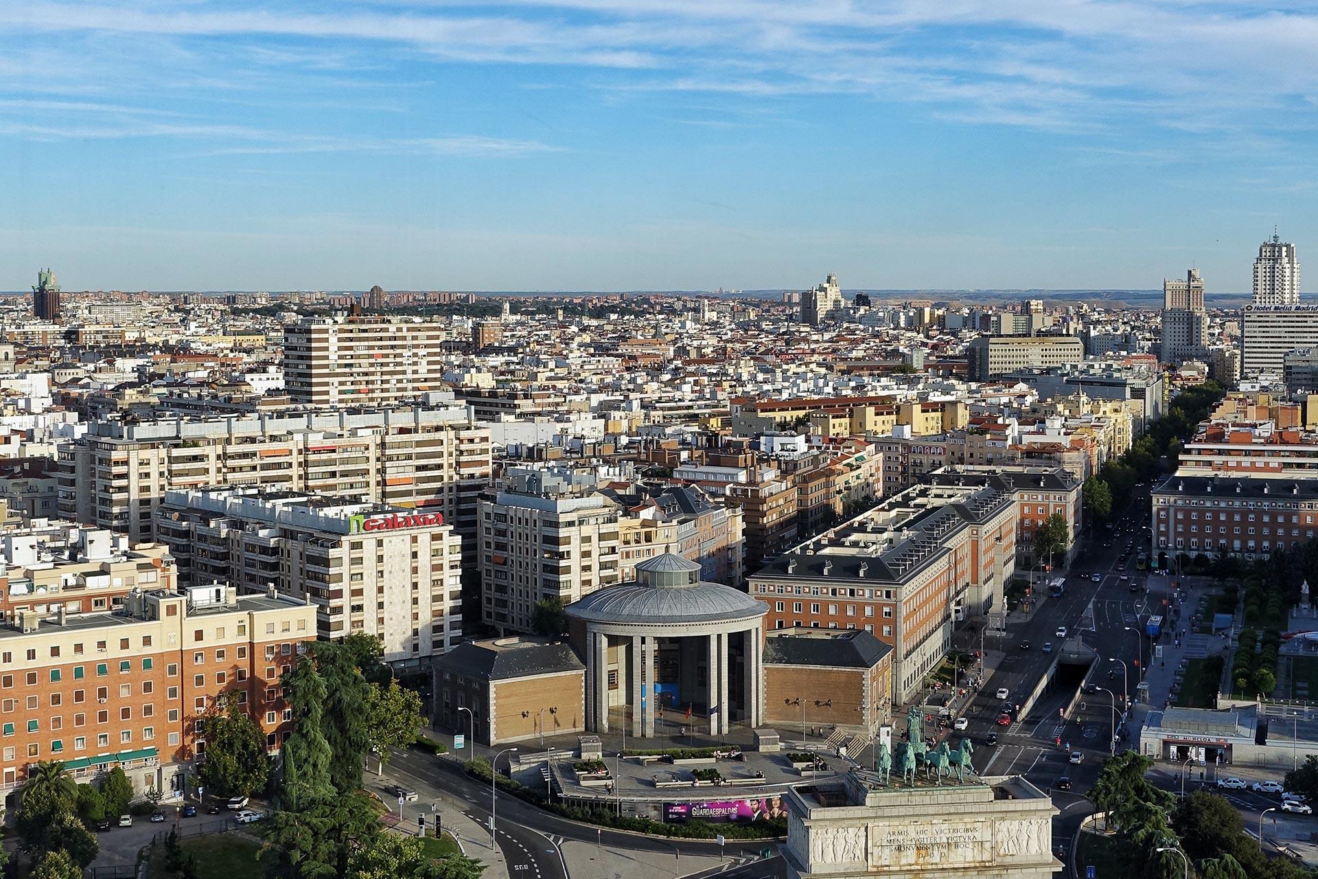 Blick über Madrid
