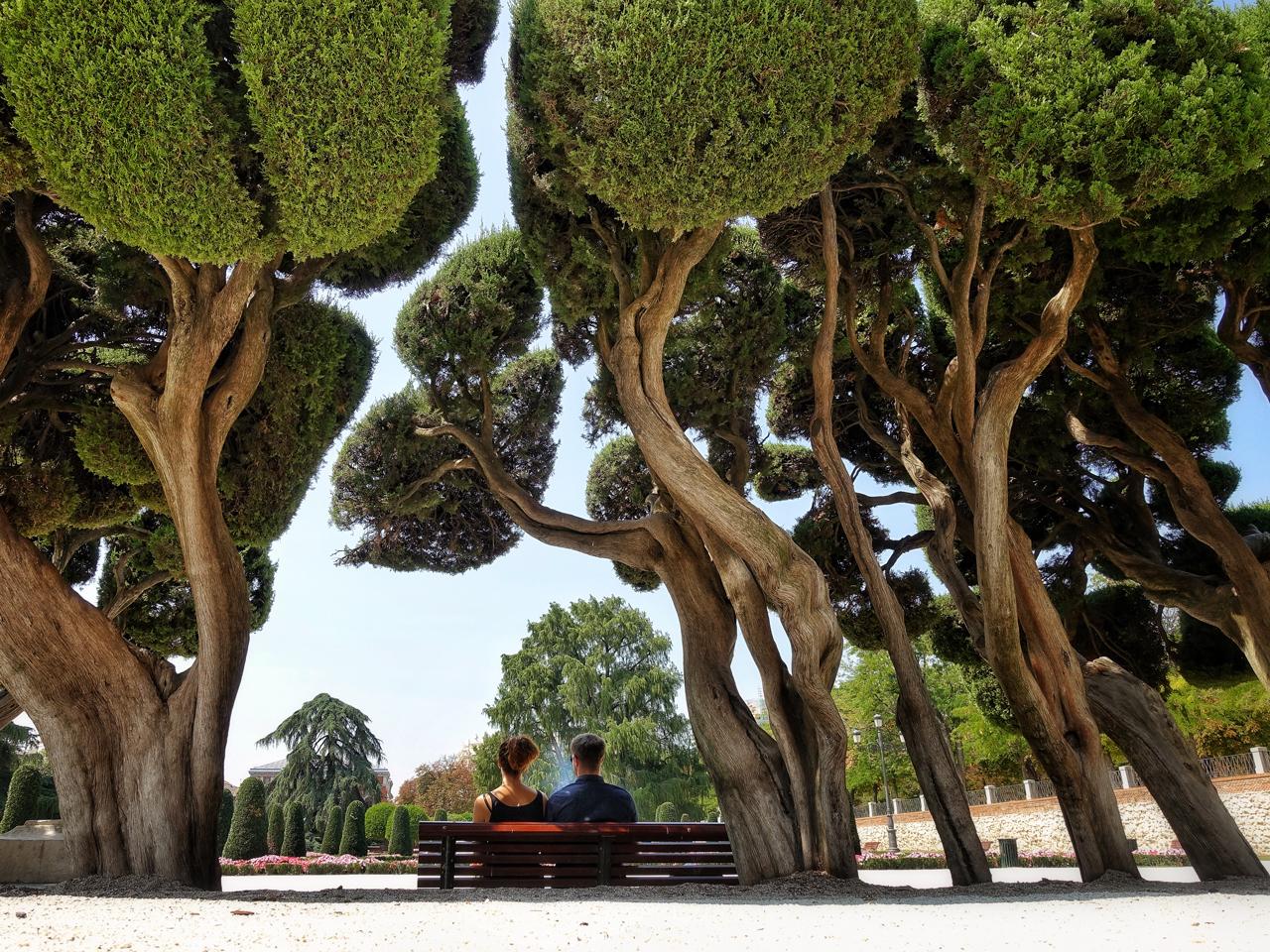 Retiro-Park-Madrid Spanien