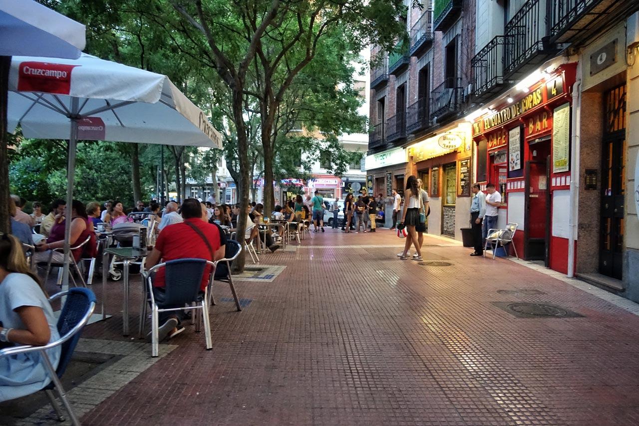 Plaza de Olavide in Madrid