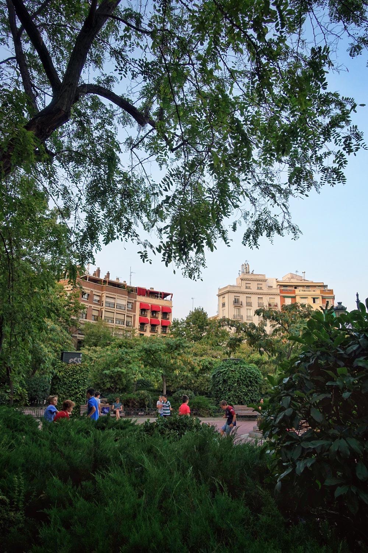 Plaza de Olivade in Madrid