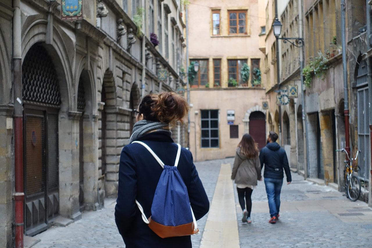 Traboules in Vieux Lyon