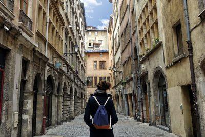 Die schönen Gassen von Lyon