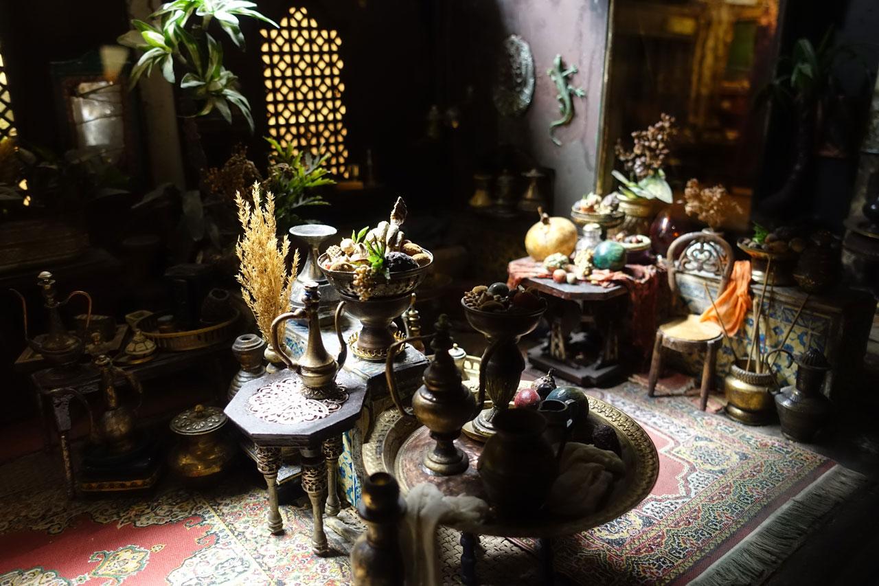 Eine Miniatur im Museum für Miniaturen Lyon