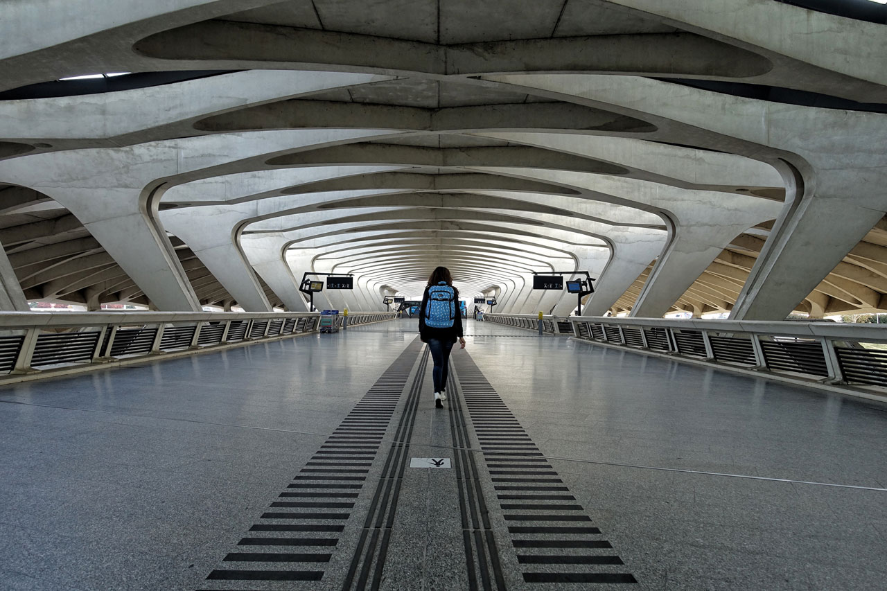 Bahnhof Rhone Express Lyon Airport