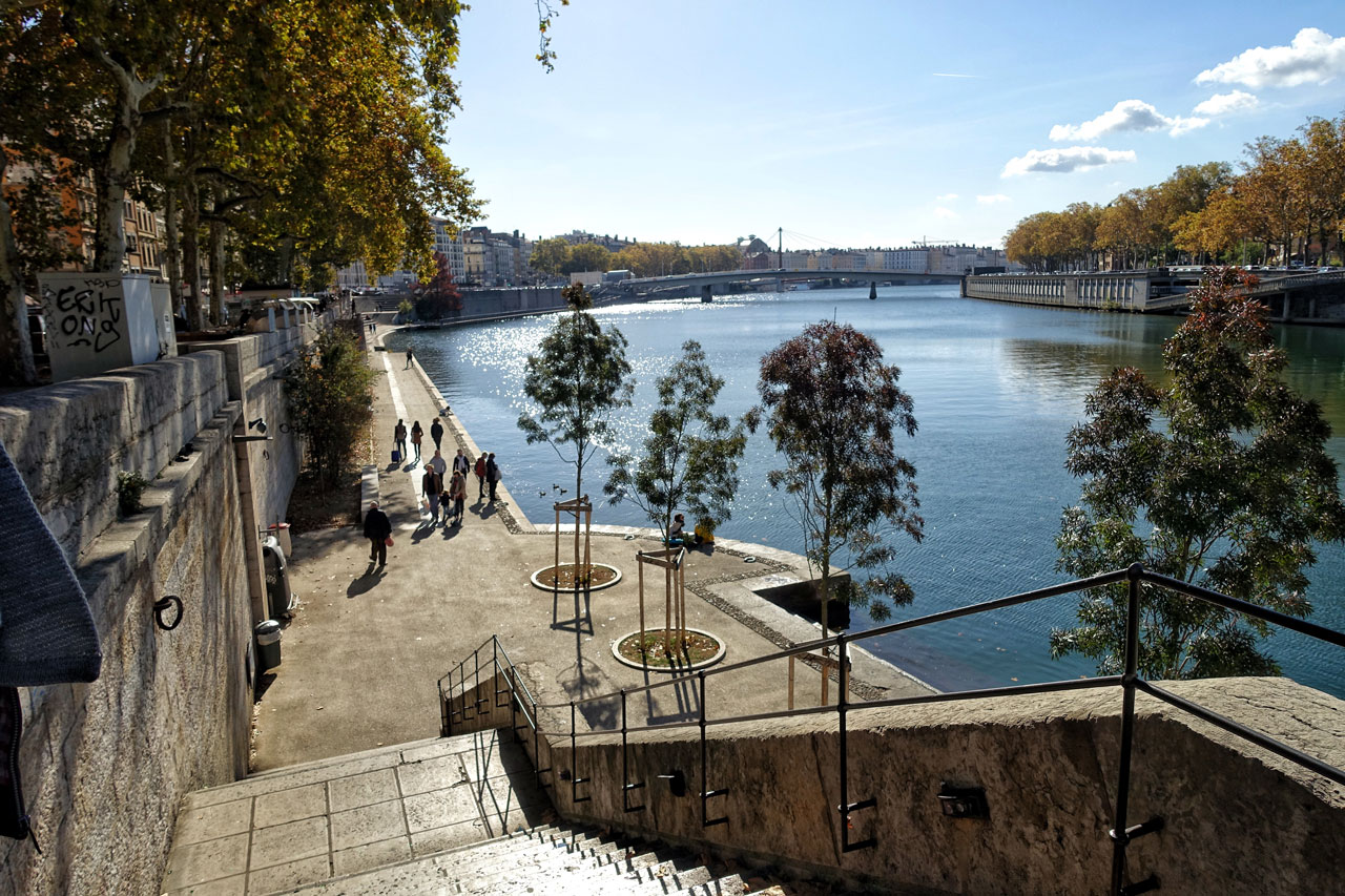 Lyon Fluss Saone