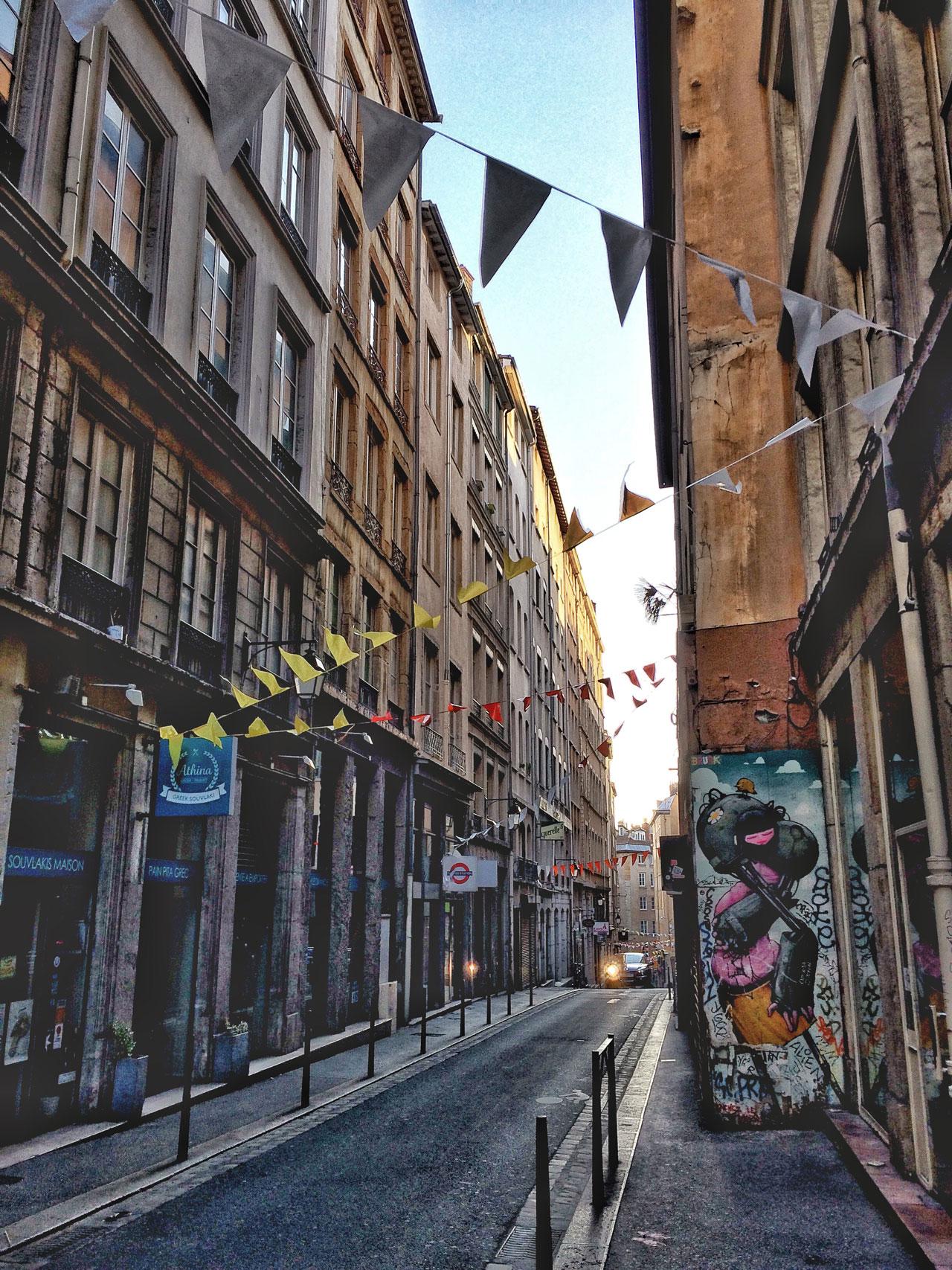Streetart Lyon Croix Rousse