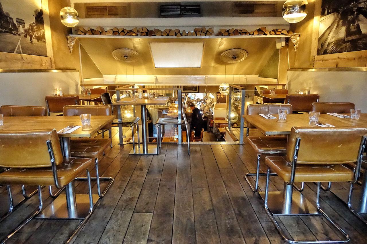 Das Restaurant Metzo aus Haarlem in den Niederlanden von innen