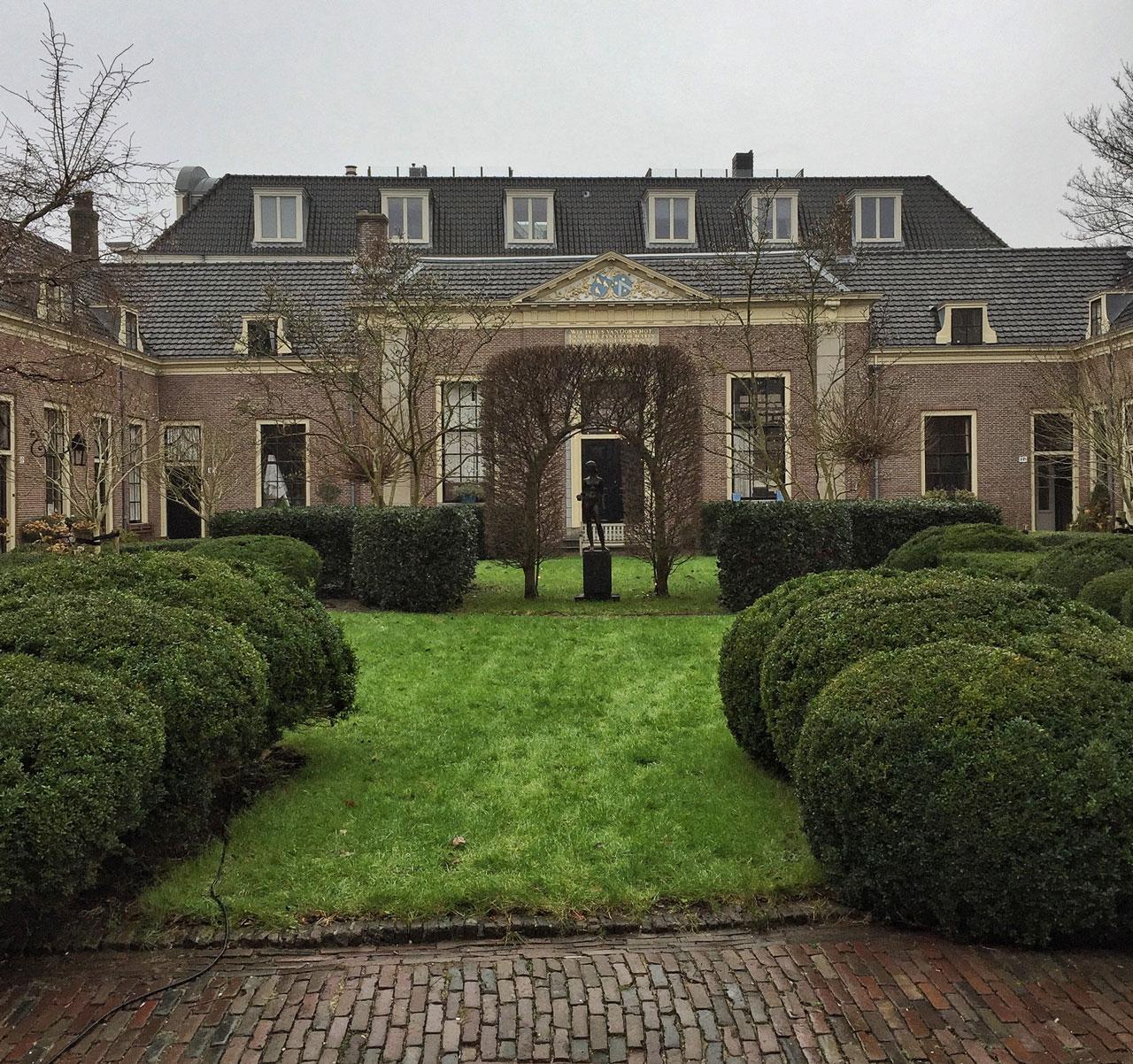 Hofje Haarlem Holland