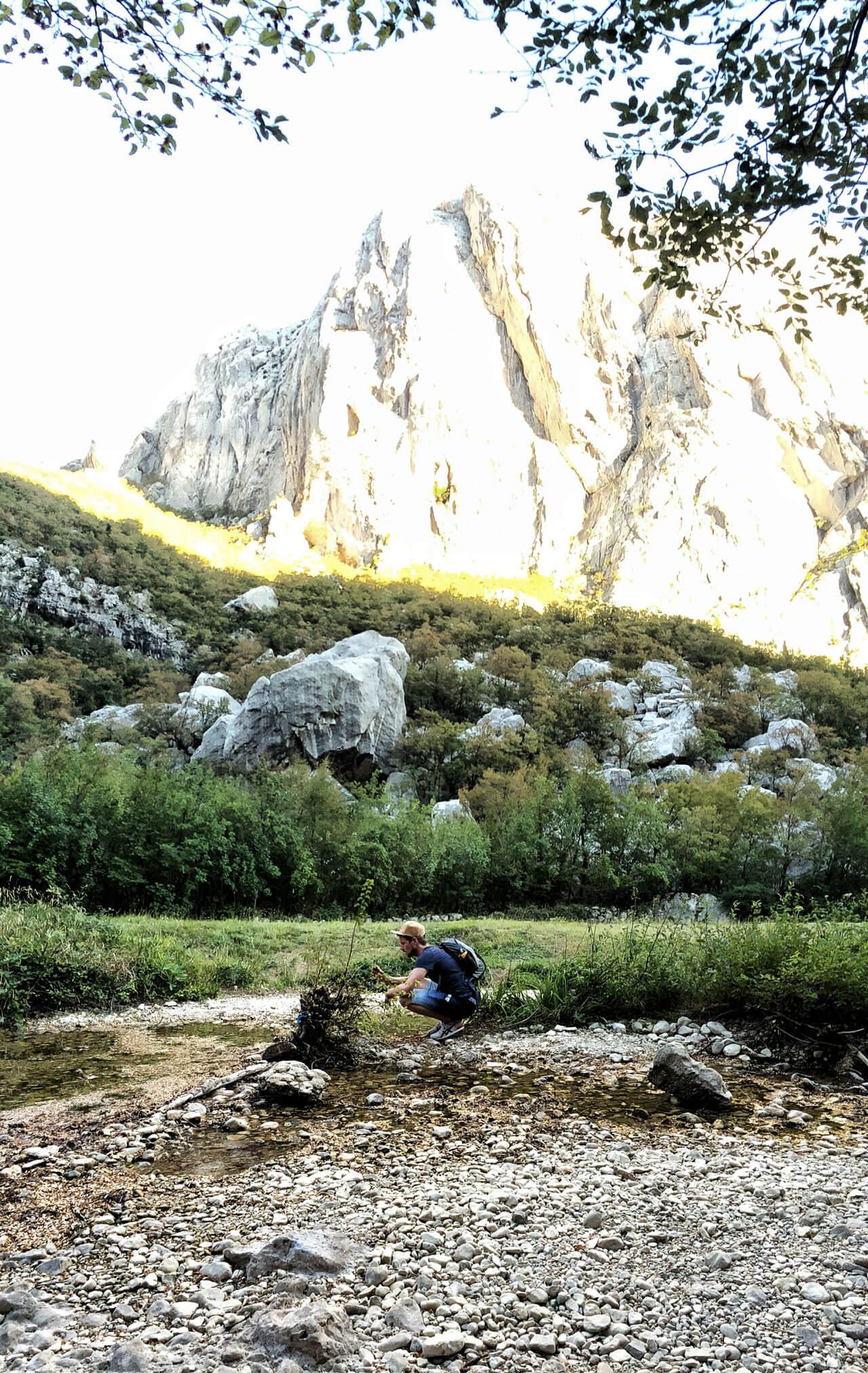 Paklenica Nationalpark Kroatien