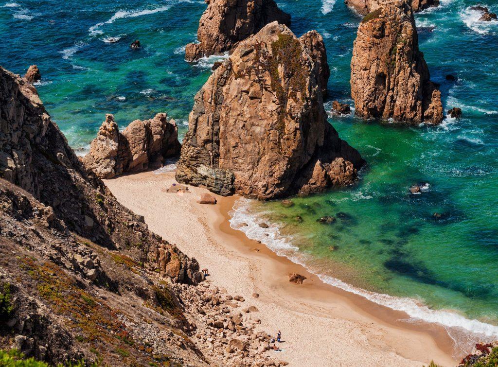 Algarve Portugal Felsklippen