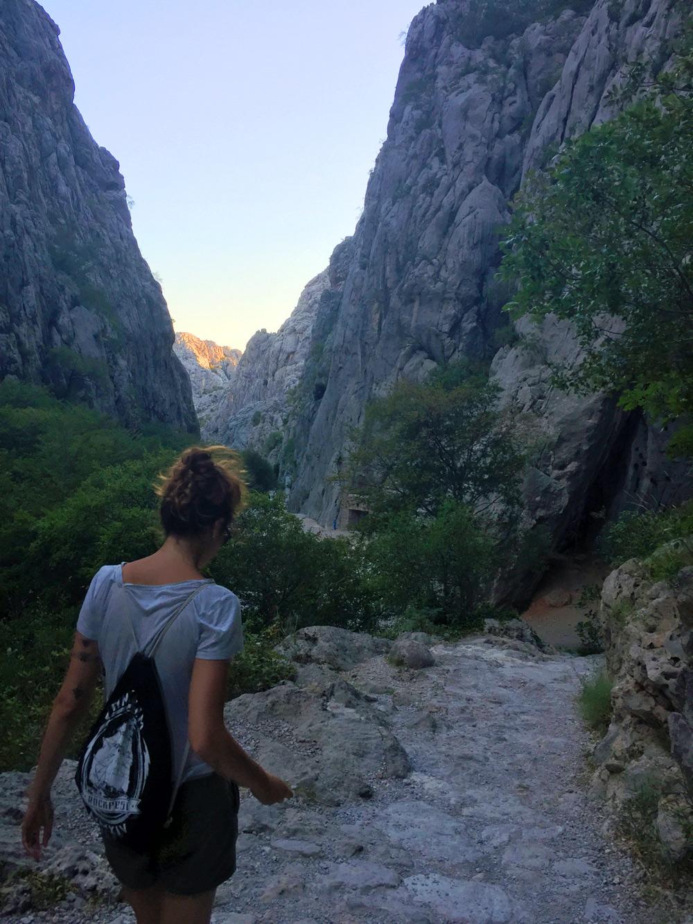 Wandern im Nationalpark Paklenica
