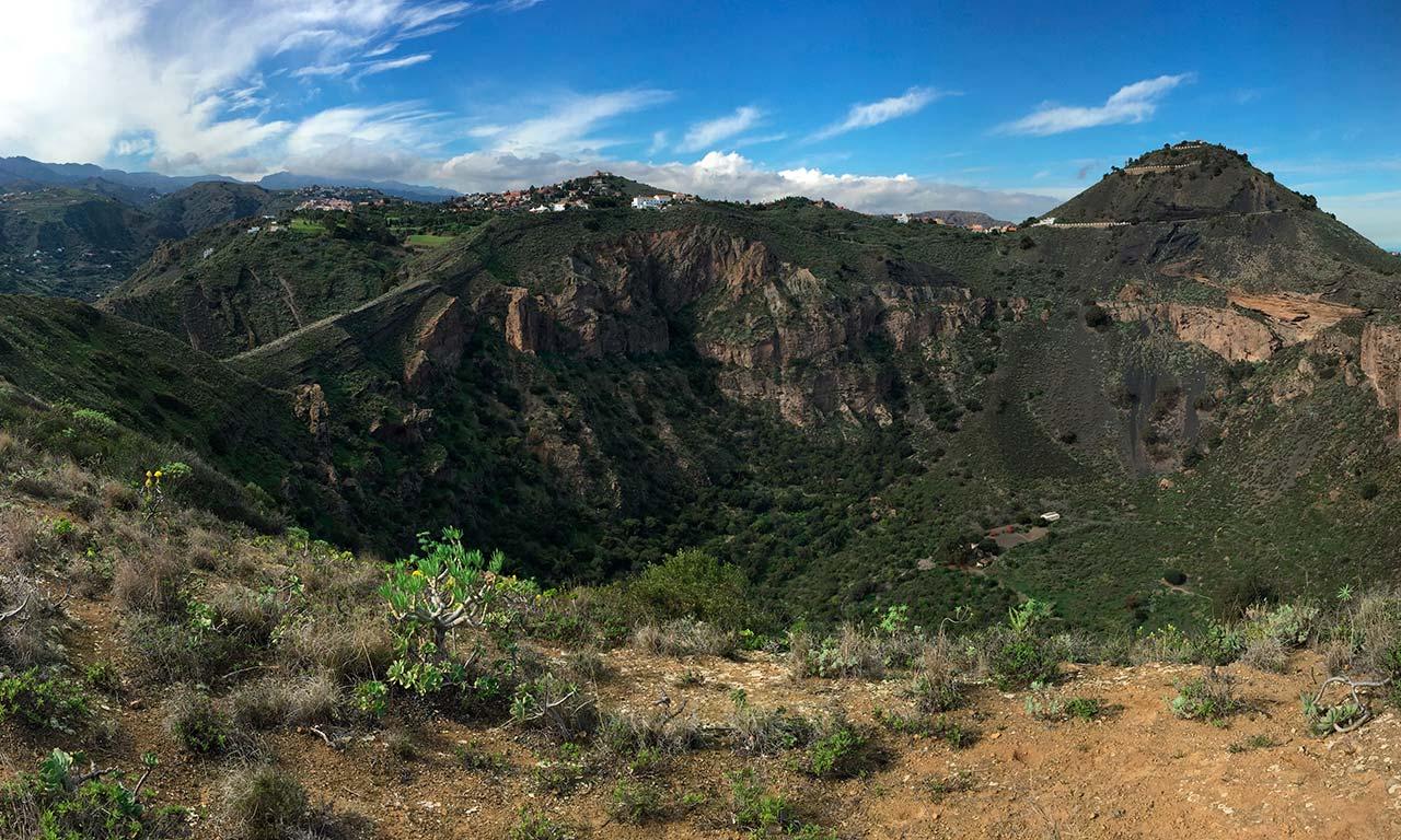 Blick in den Krater von Bandama